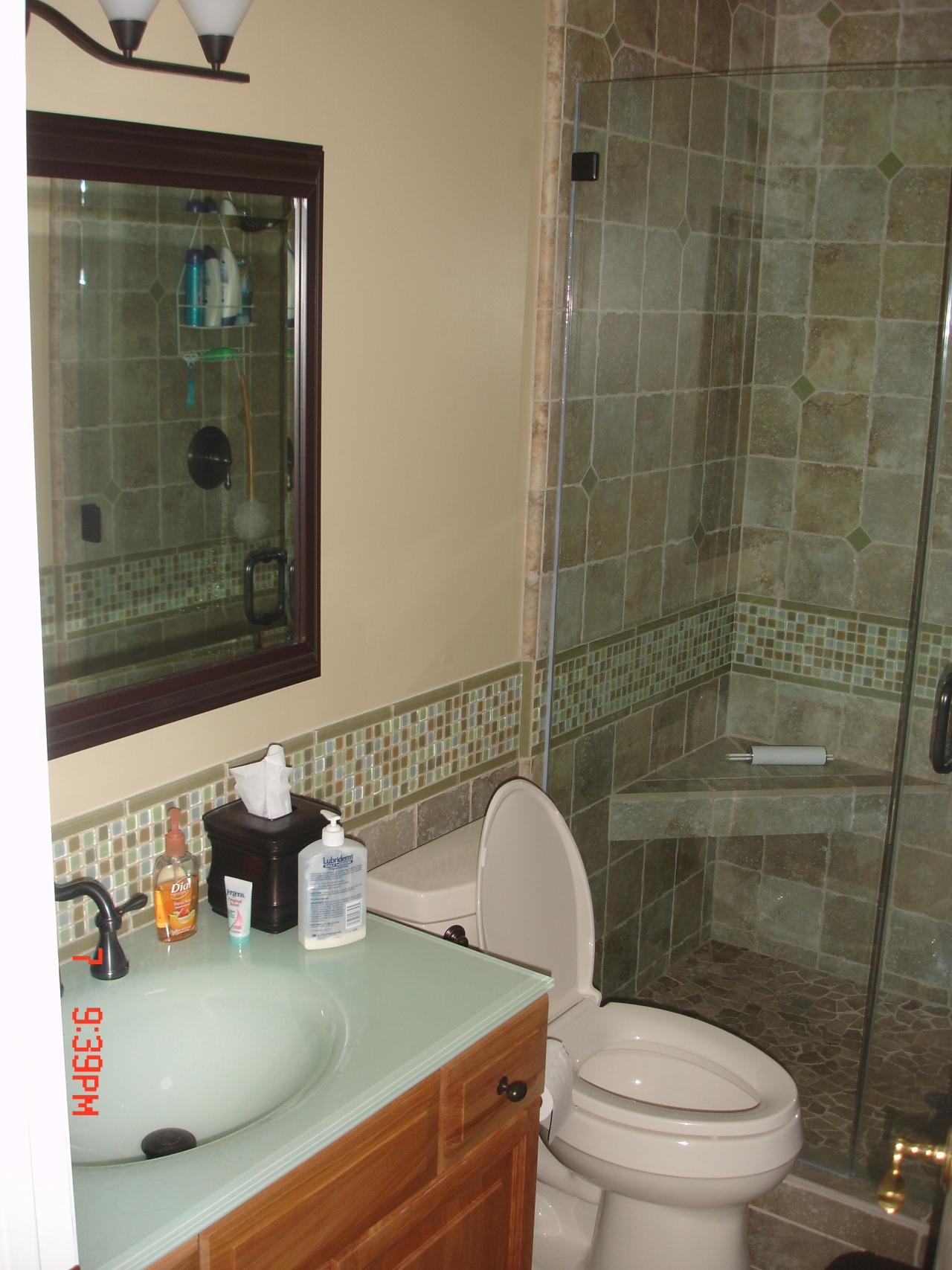 Custom Tile Design And Installation For Bathroom Remodel
